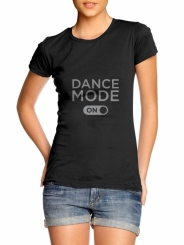 GYMO SPORTS - Bale Tişört Dance Mode On
