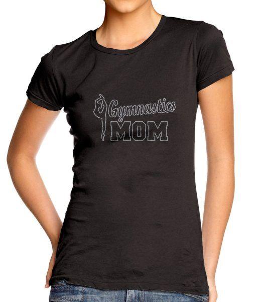 Baskıya Hazır Kristal Taş Transfer Gymnastics Mom-GM03