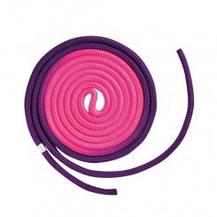 CHACOTT - Chacott Combination Ritmik Cimnastik İpi Mor&Pembe 2 Renkli (F.I.G. Onaylı)