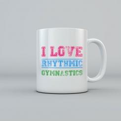GYMO SPORTS - I LOVE RHYTHMIC GYMNASTICS KUPA BARDAK