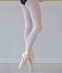 PRIDANCE - Pridance Ayaklı Bale Çorabı 40 Denye Beyaz 10001