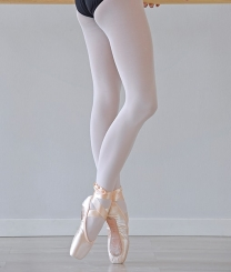 PRIDANCE - Pridance Bale Çorabı 40 Denye Beyaz 10001
