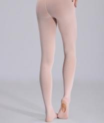 PRIDANCE - Pridance Convertible Bale Çorabı 40 Denye 513C Açık Pembe