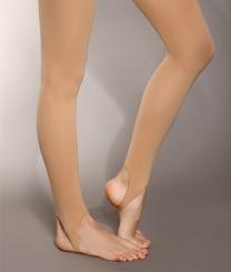 PRIDANCE - Pridance® Ten Rengi Yarışma Çorabı