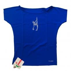 RIVORI - Rivori Kimono Top Temalı Kız Mavi