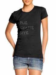 GYMO DANCEWEAR - Bale Tişört Plie Chasse Jete
