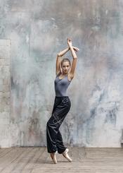 GRISHKO - Grishko Warm-Up Pantolon Siyah/Gümüş 0405PT