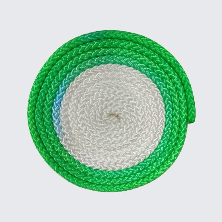 GYMO SPORTS - Gymo Sports Ritmik Cimnastik İpi Beyaz x Yeşil