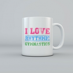 GYMO SPORTS - I LOVE RHYTHMIC GYMNASTICS KUPA BARDAK