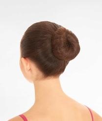 GYMO SPORTS - İnce Saç Filesi (5'li Paket) Koyu Kahverengi