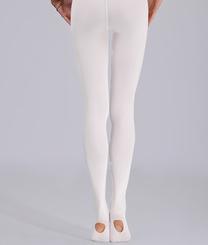 PRIDANCE - Pridance Convertible Bale Çorabı 60 Denye 514C Beyaz