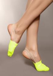 PRIDANCE - Pridance Çorap Cimnastik Patiği Fosforlu Sarı 993
