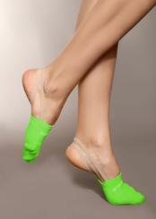 PRIDANCE - Pridance Çorap Cimnastik Patiği Fosforlu Yeşil 993