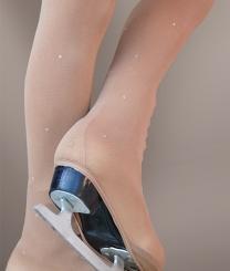 PRIDANCE - Pridance Taşlı Buz Pateni Çorabı 50 Denye 518/50S
