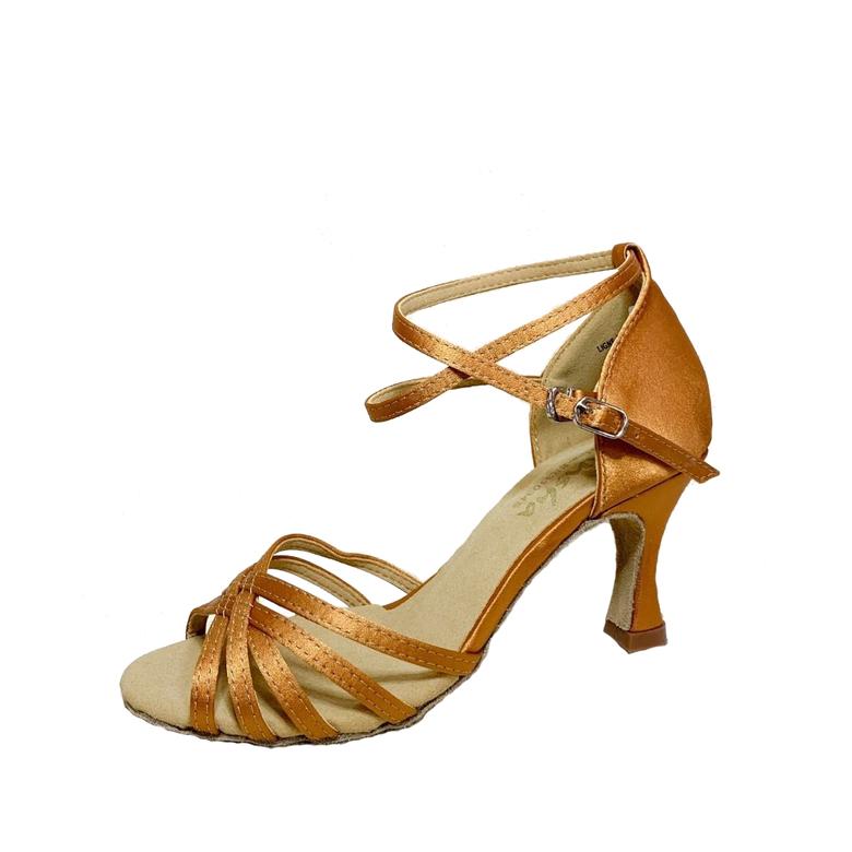 SANSHA - Sansha Dans Ayakkabısı BR31034S Regina Dark Tan